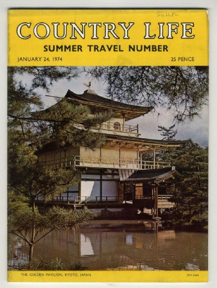 1974 COUNTRY LIFE MAGAZINE 24 JANUARY FINNISH LAPLAND BIRDS Kyoto Gardens and Temples LOBSTER FISHING DUIVENVOORDE